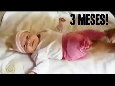 Actividades Bebe 3 Meses Estimulacion Temprana Youtube
