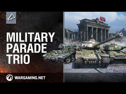 Military Parade Trio