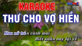 Thư Cho Vợ Hiền Karaoke Nhạc Sống Rumba - Hoàng Dũng Karaoke