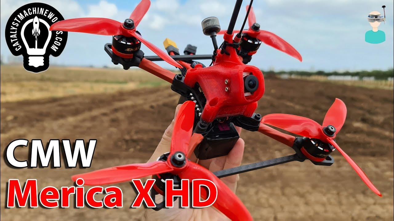 🚀 CMW Merica X HD - Build & Flight
