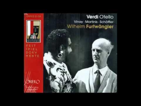 "Giuseppe Verdi ""Otello"" Wilhelm Furtwängler (Salzburg 1951)"
