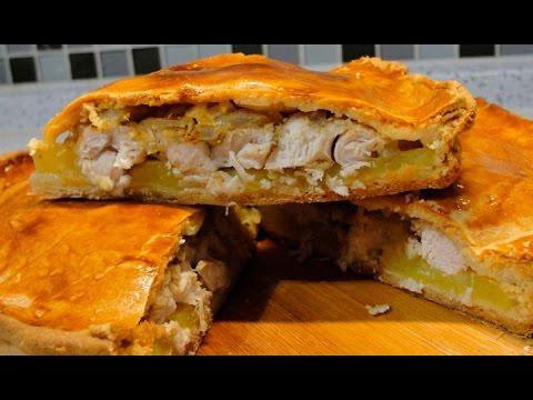Как приготовить пирог с курицей и картошкой в духовке