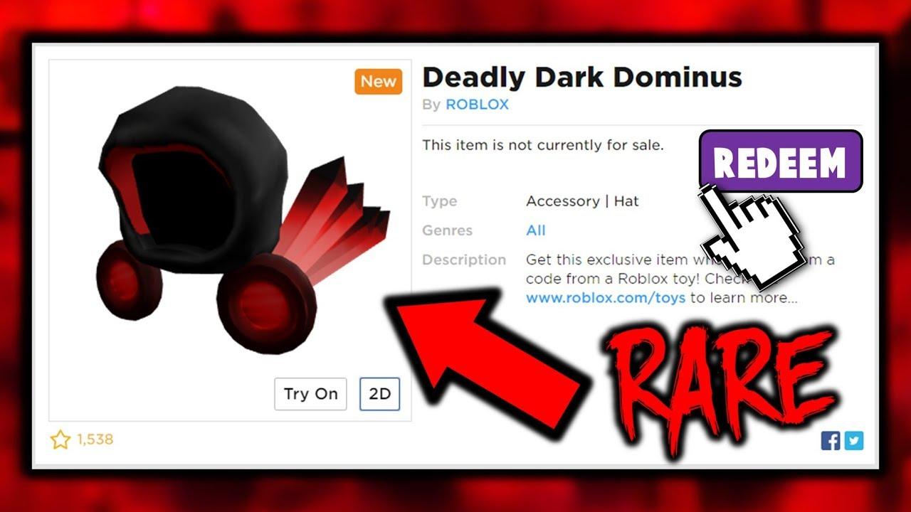 Deadly Dark Dominus Toy Code