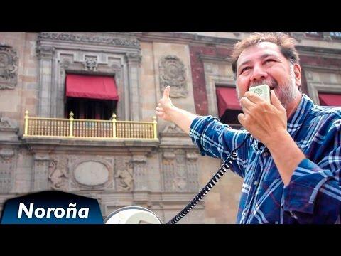 El PRI está liquidado, quieren a Margarita de Presidenta... Noroña frente a Palacio Nacional