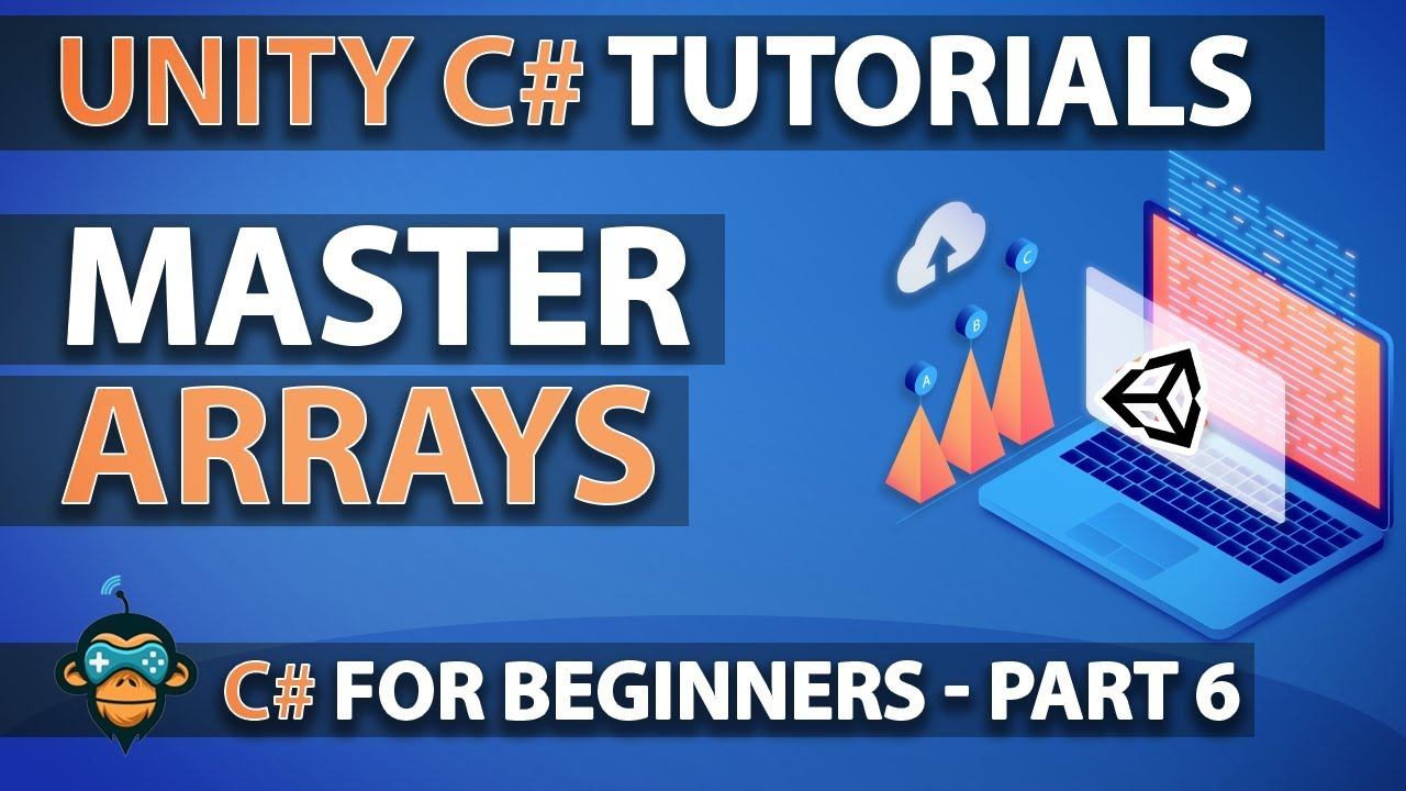 how to create an array in unity