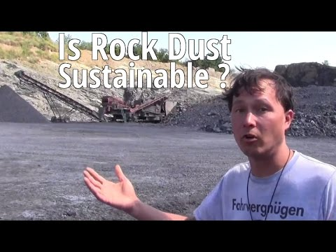 Is Rock Dust Sustainable ?