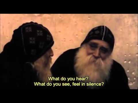 Father Lazarus teaches an American pilgrim about silence and the Jesus Prayer