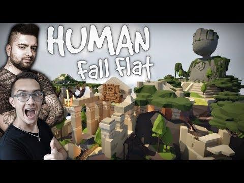 Ahooj Przygodoo ☼ Aztec Map - Ostatnia Mapa  ✔ 2x KAMERKI ㋡ Human: Fall Flat #10