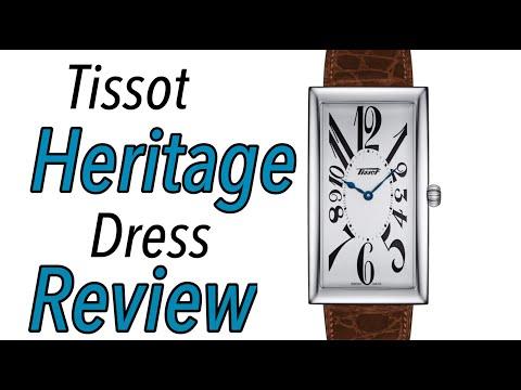 "Tissot Heritage ""Banana"" Swiss Watch Review"