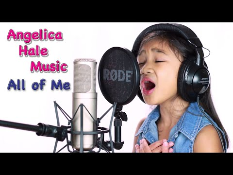 All of Me Female  of John Legend  Angelica Hale 7 years old