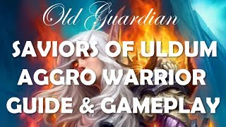 Aggro Warrior deck guide and gameplay (Hearthstone Saviors of Uldum)