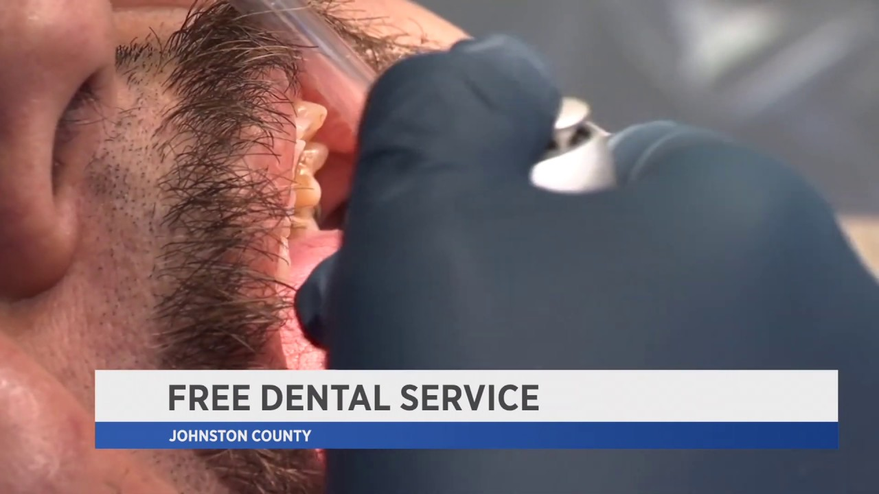 Free Dental Service in Johnston County