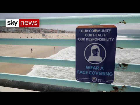 Coronavirus closes California's beaches for Independence Day weekend
