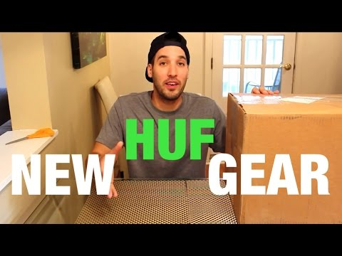 Special Unboxing From HUF