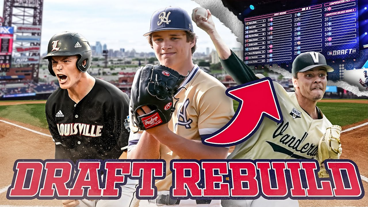 2021 MLB DRAFT REBUILD CHALLENGE in MLB The Show 21