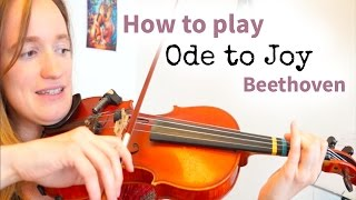 Video Beethoven - Ode to Joy (Simple Version) | Easy Beginners Song | Violin Tutorial download MP3, 3GP, MP4, WEBM, AVI, FLV Juli 2018