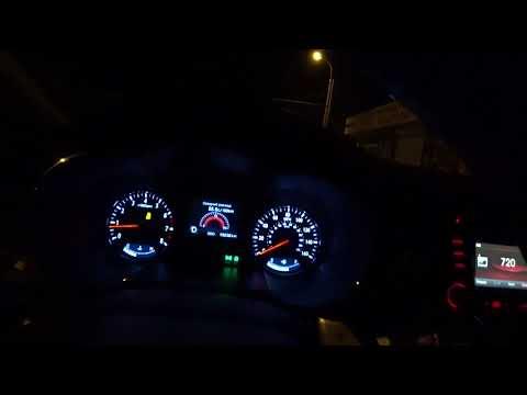 Kia Optima 2.0 T-GDI 278hp  Acceleration 0-100