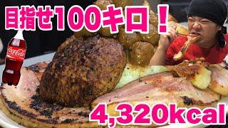 【大食い】肉もりもり丼で100キロの超デブを目指す!! thumbnail