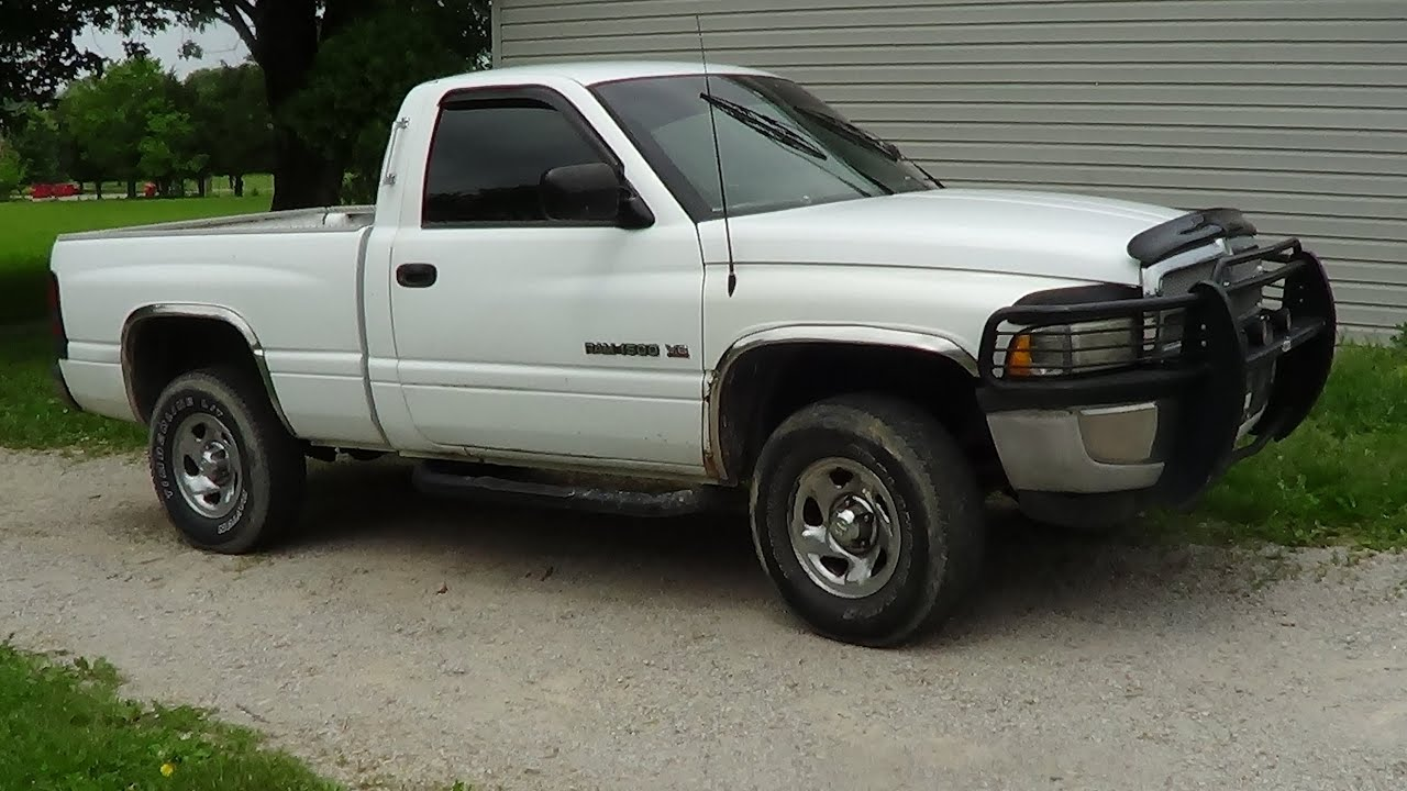 Replacing Front U Joint 1997 Dodge Ram 1500 Youtube