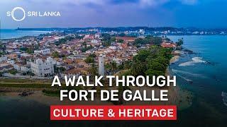 Galle Fort Walkthrough | So Sri Lanka