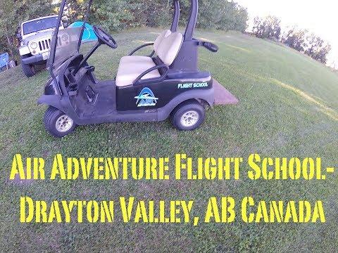 Air Adventure Flight School- Paramotor training and camping- Drayton Valley Alberta