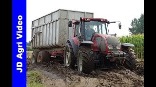 Mais hakselen 2017/Claas Jaguar 960/Valtra/Dreierink/Harvesting maize/Maishäckseln/Terwolde