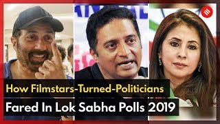 How Filmstars-Turned-Politicians Fared In Lok Sabha Election 2019