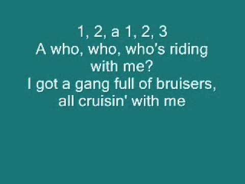 Teen Beach Movie: Cruisin' For A Bruisin' with lyrics