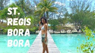 Tour The St. Regis Bora Bora and the Overwater Pre...