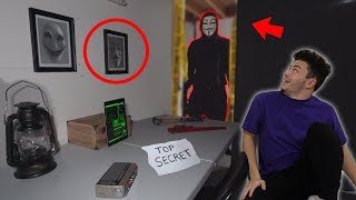 FOUND PROJECT ZORGO SECRET HEADQUARTERS in my HOUSE (Unboxing Mysterious Evidence)