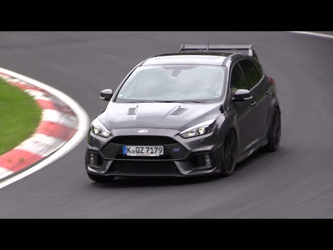 Ford Focus RS Testing on the Nurburgring