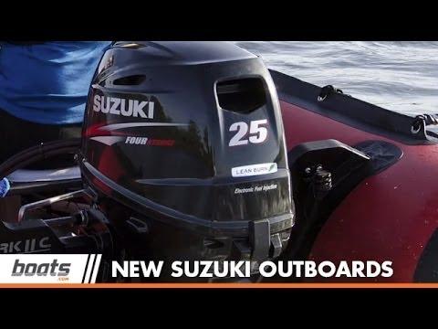 Suzuki 25 and Suzuki 30 Outboards for 2014 on