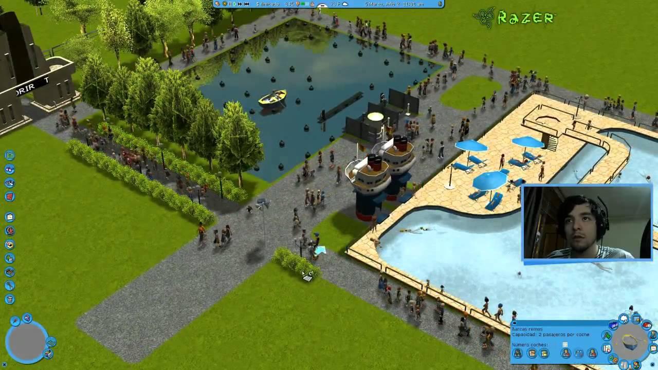 ► Roller Coaster Tycoon 3 & Zoo Tycoon 2 - Primer vistazo