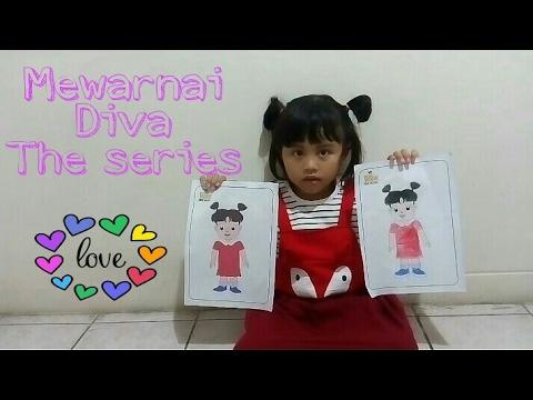Mewarnai Diva The Series Youtube