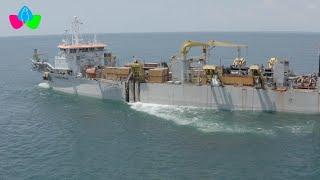 Empresa Portuaria Nacional inicia labores de dragado en Puerto Corinto de Chinandega