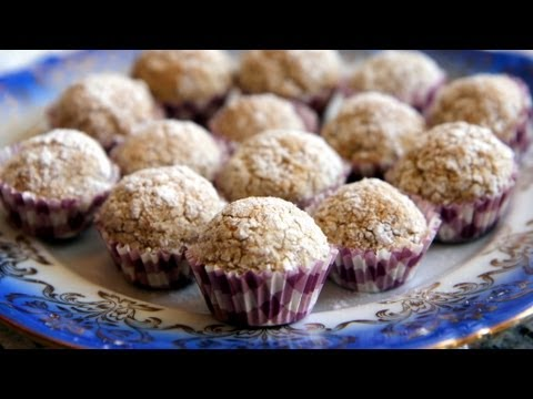 Almond Coconut Balls - Gluten Free Cookie Recipe! - CookingWithAlia - Episode 267