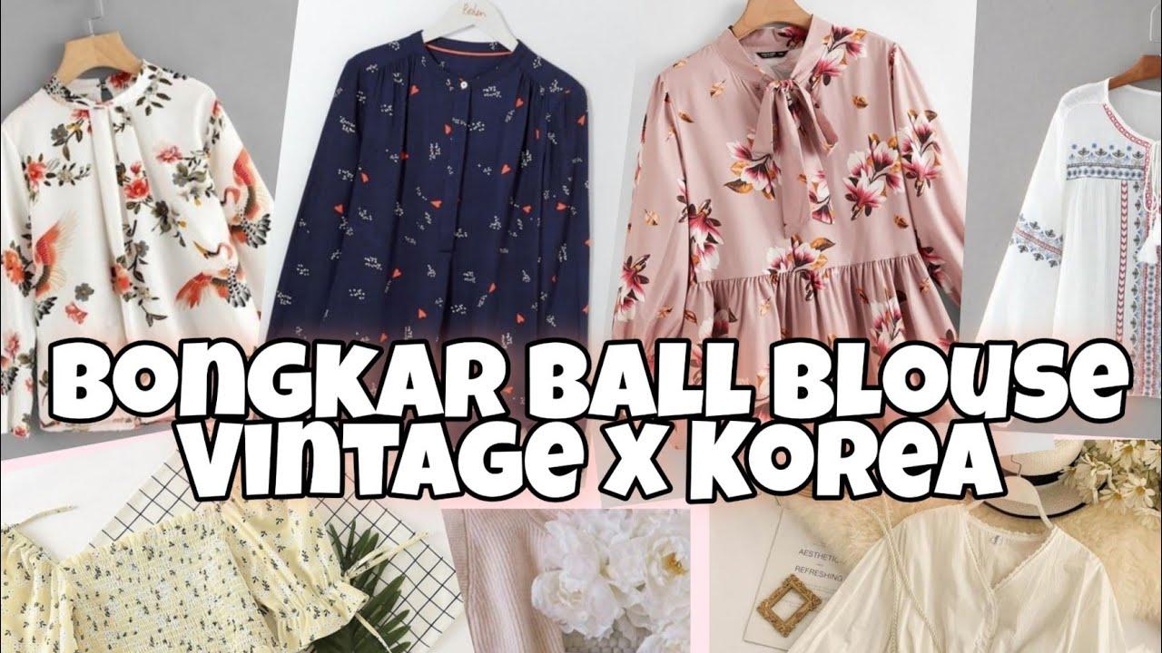 Bongkar Ball Blouse Premium - Untuk Pemula [ Part 2 ]