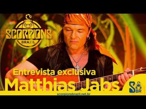 Scorpions Brazil entrevista Matthias Jabs (01/2017) (Inglês)