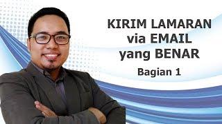 TIPS KIRIM LAMARAN VIA EMAIL - BAGIAN 1