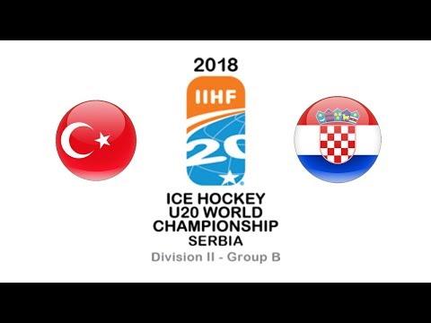 World Championship U20 D2B / Turkey - Croatia