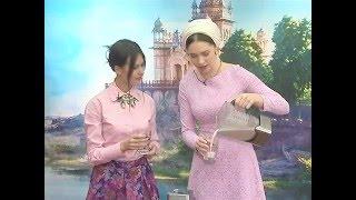 "Катерина Дорохова. Рецепт Ласси. В передаче "" Скоро завтрак"""
