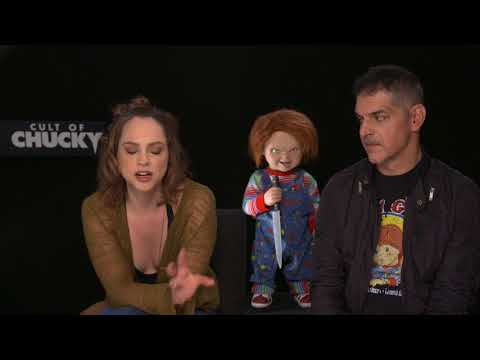 FrightFest 2017 - Cult Of Chucky interview with Don Mancini and Fiona Dourif