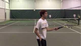 College Tennis Recruitment Video Thumbnail