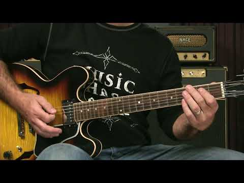 Merry Christmas Baby Blues Guitar Lesson