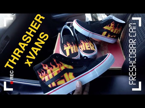 Vans X Thrasher Collection Pickup Vlog & Unboxing