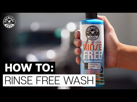 How To Wash Your Car Without Rinsing! - Chemical Guys