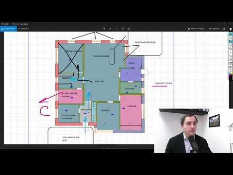 Полностью МОНОЛИТНЫЙ ЖЕЛЕЗОБЕТОННЫЙ ДОМ на разборе // проект одноэтажного дома 140 кв.м.