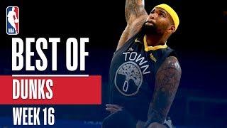 NBA's Best Dunks | Week 16