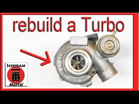 how to rebuild a used turbocharger
