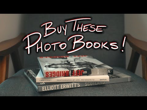 Photo Book Pickups! 3 Books You Should Check Out